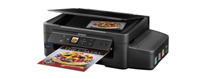 The Epson WorkForce ET-4550 EcoTank All-in-One Printer