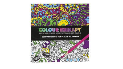 Colour yourself relaxed with the new grown-up colouring-in books
