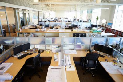 Why offices have eliminated cubicles
