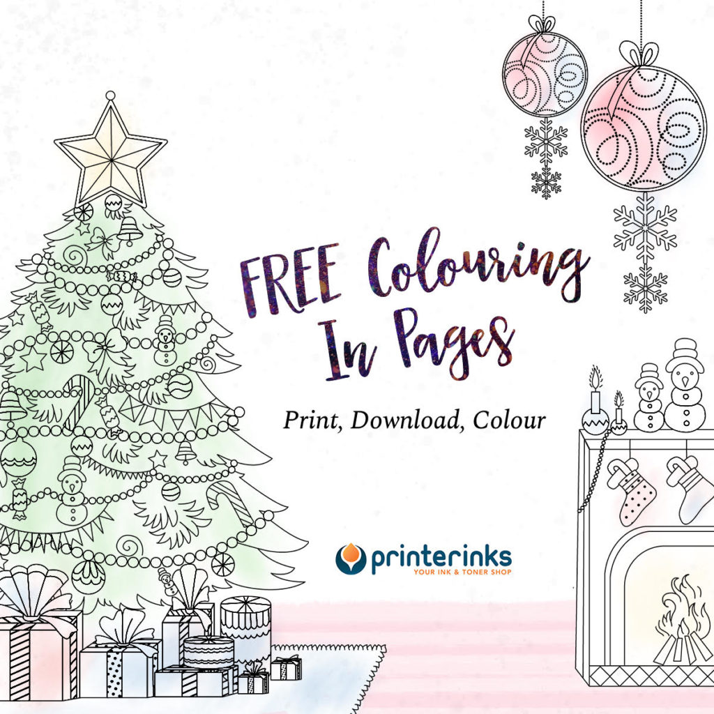 Free Christmas Colouring Printables 2017